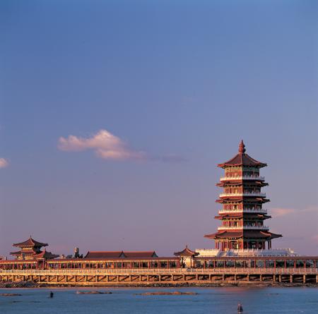 八仙过海景区景点图片 旅游景点 蓬莱旅游网